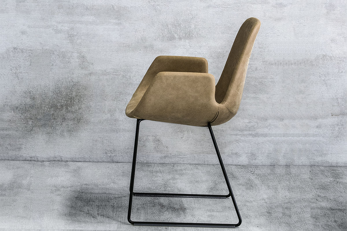 Tonon Armchair, Armlehnen, Armlehne, Tonon Step Chair, Stuhl, Leder, mbzwo, 904.94, tonon step 904.94, designer stuhl, leather, step chair