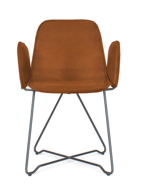 Like Leather Mit Armlehne Designer Stuhl Armlehne Stuhl Filigran