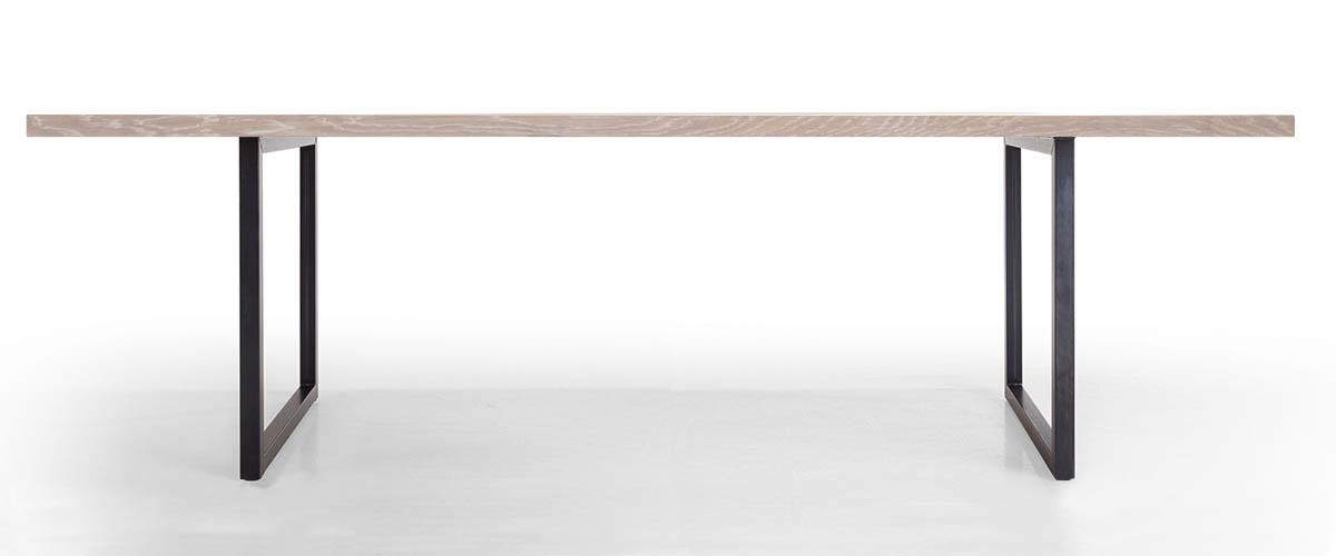 Tisch Tipo im Profil in Asteiche weiß geölt