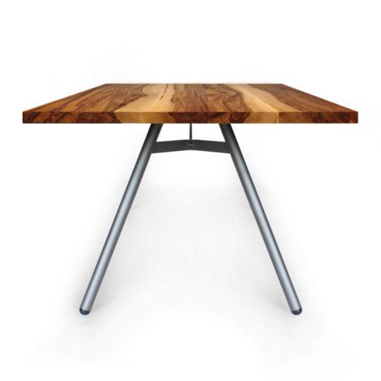 Tisch Trigon in Nussbaum Satin von MBzwo