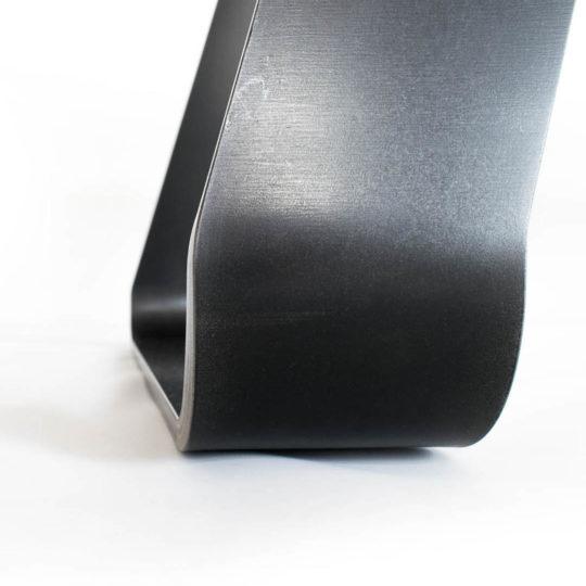 Esstisch Design Brutus Stahlfuß