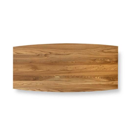 Tischplatte Ulme Premium in Bootsform von MBzwo