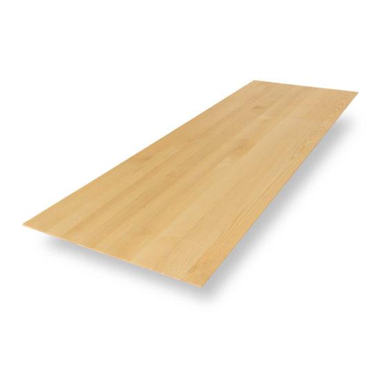 Tischplatte Esche Premium mit Schweizer Kante von MBzwo