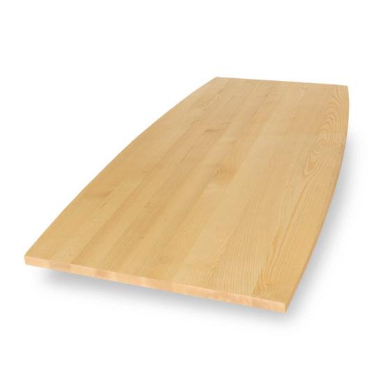 Tischplatte Esche Premium in Bootsform von MBzwo