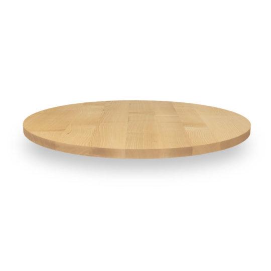 Runde Tischplatte Esche Premium von MBzwo