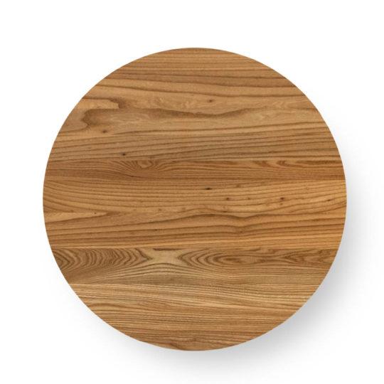 Runde Tischplatte Ulme Premium von MBzwo
