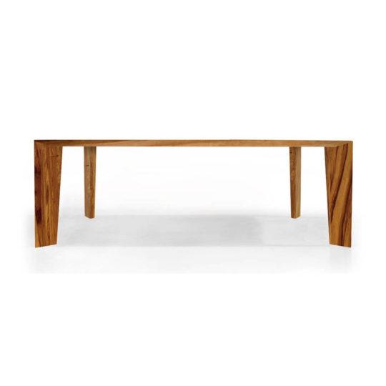Design Tisch Bronco in Nussbaum Satin