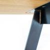 Tisch Brutus Detailbild vom Fuß bei MBzwo
