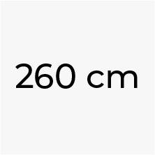 260 cm