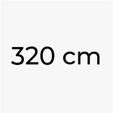 320 cm