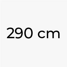 290 cm