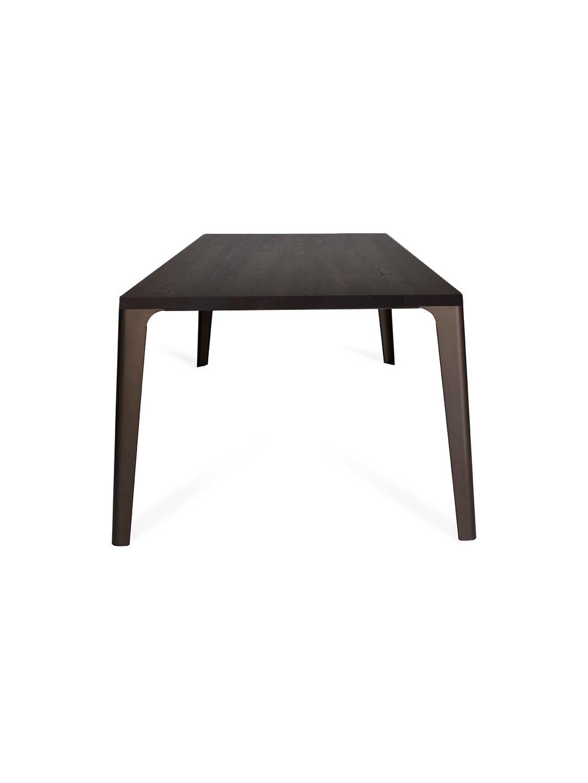 Tisch Elise in Asteiche schwarz geräuchert