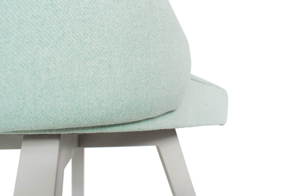 ipdesign Flow Dining Chair in türkis bei MBzwo