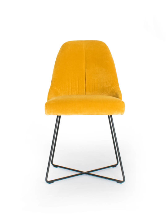 ipdesign Flow Dining Chair in Orange bei MBzwo