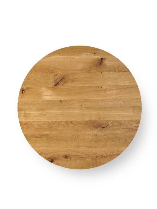 Runde Tischplatte nach Maß in Asteiche von MBzwo