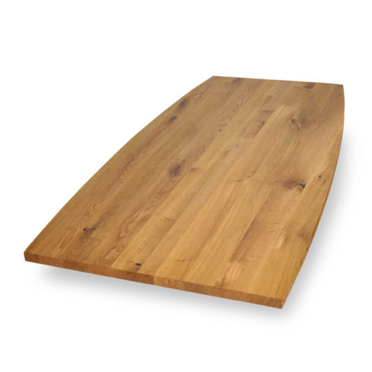 Tischplatte Bootsform Asteiche von MBzwo
