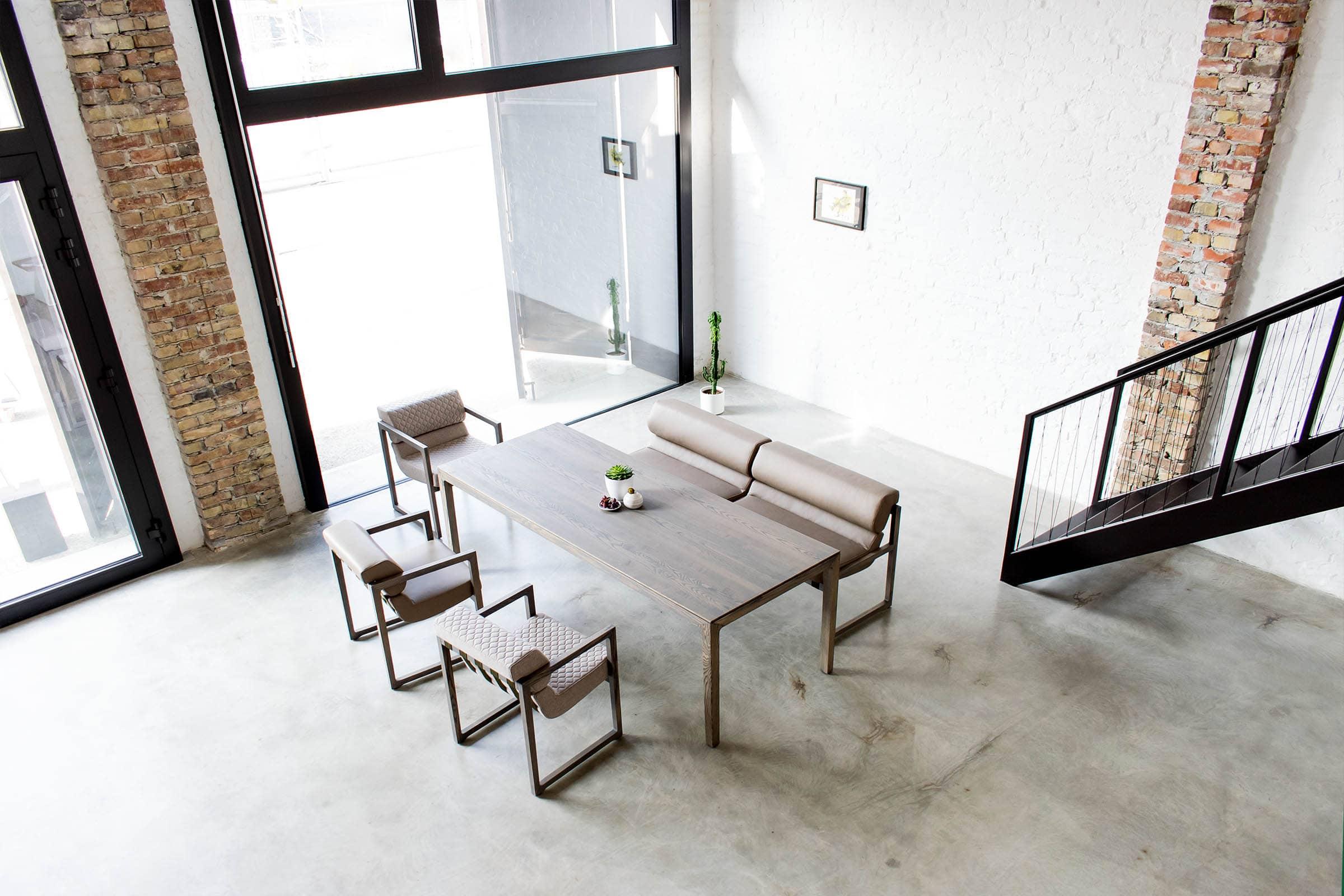 Designer Lederbank NBLOGG