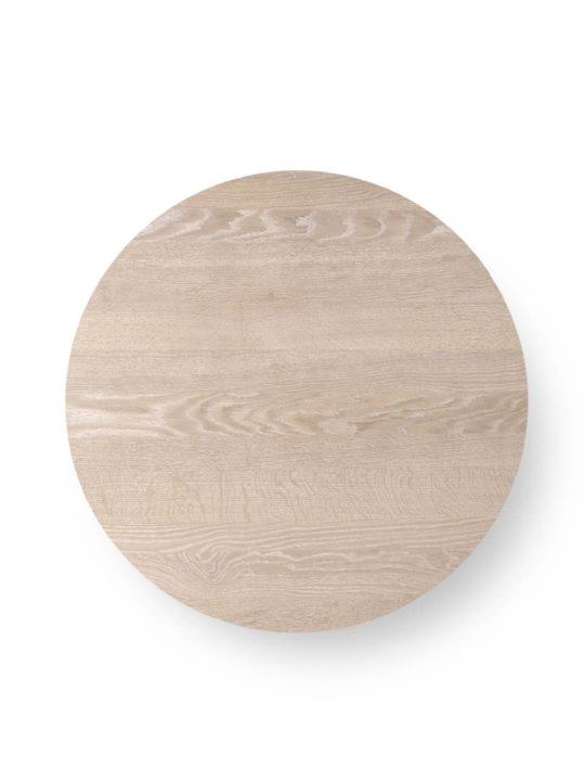 Runde Tischplatte nach Maß in Eiche weiß geölt von MBzwo