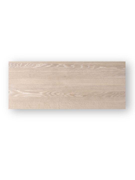 Tischplatten nach Maß Schweizer Kante in Eiche weiß geölt von MBzwo