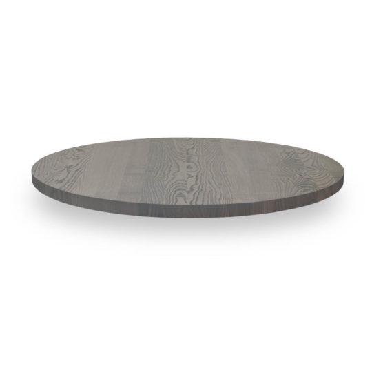 Runde Tischplatte nach Maß in Esche grau geölt von MBzwo