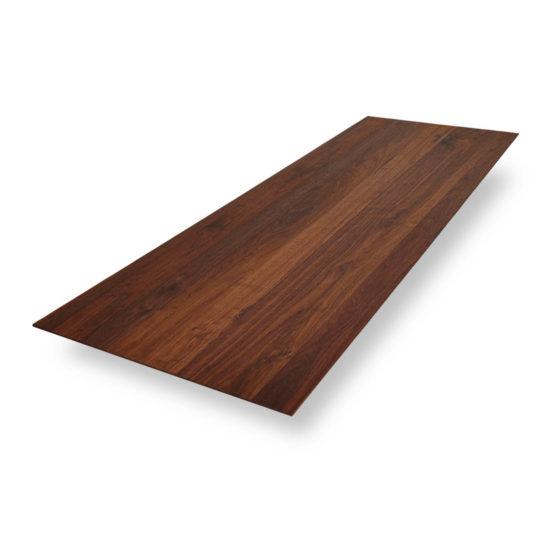 Tischplatten nach Maß Schweizer Kante in Nussbaum Ast von MBzwo