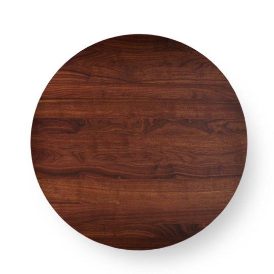 Runde Tischplatte nach Maß in Nussbaum Premium von MBzwo