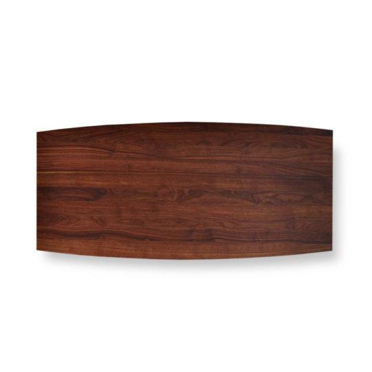 Tischplatte Bootsform Nussbaum Premium von MBzwo