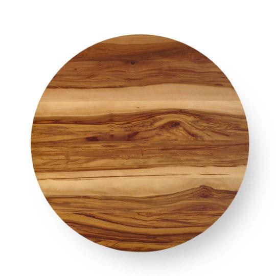 Runde Tischplatte nach Maß in Nussbaum Satin von MBzwo