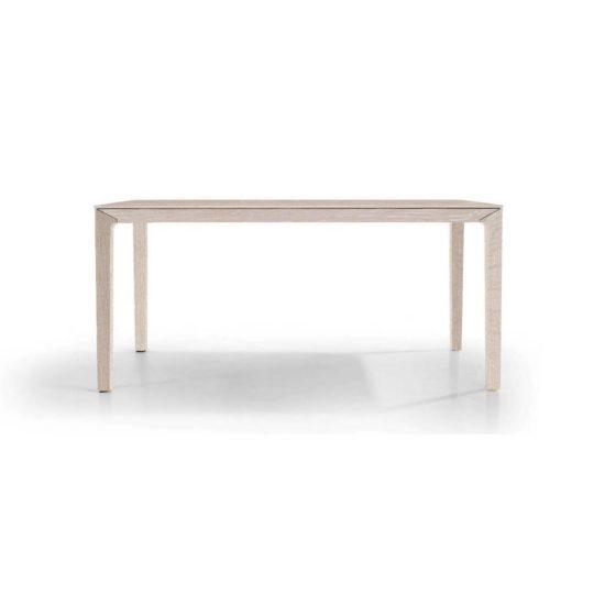 Holztisch filigran nach Maß NBLOGG in Eiche weiß geölt