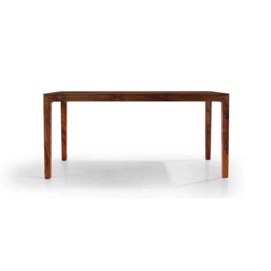Holztisch filigran nach Maß NBLOGG in Nussbaum Ast