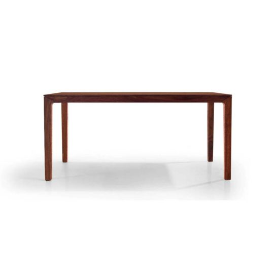 Holztisch filigran nach Maß NBLOGG in Nussbaum Premium
