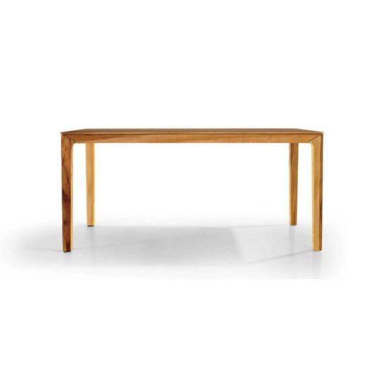 Holztisch filigran nach Maß NBLOGG in Nussbaum Satin