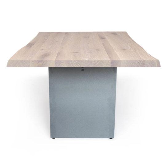 Massivholztisch Nelson mit Baumkante