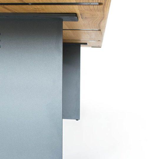 Massivholz Esstisch Nelson in Eiche Premium