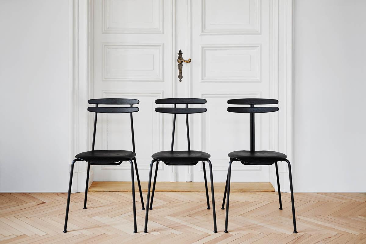 design stuhl tabanda trojka black