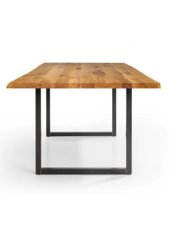 Industrial Tisch Tipo mit Baumkante