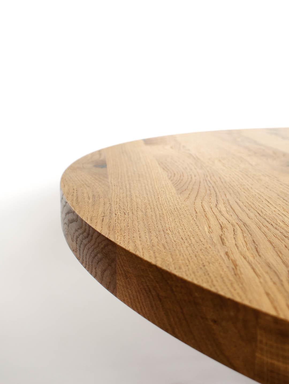 Tischplatte Rund 50 Cm.Tischplatten Rund Asteiche