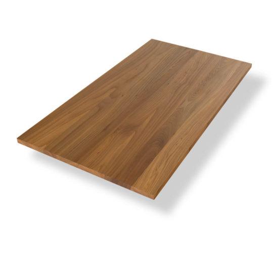 Tischplatte auf Maß Ulme Premium