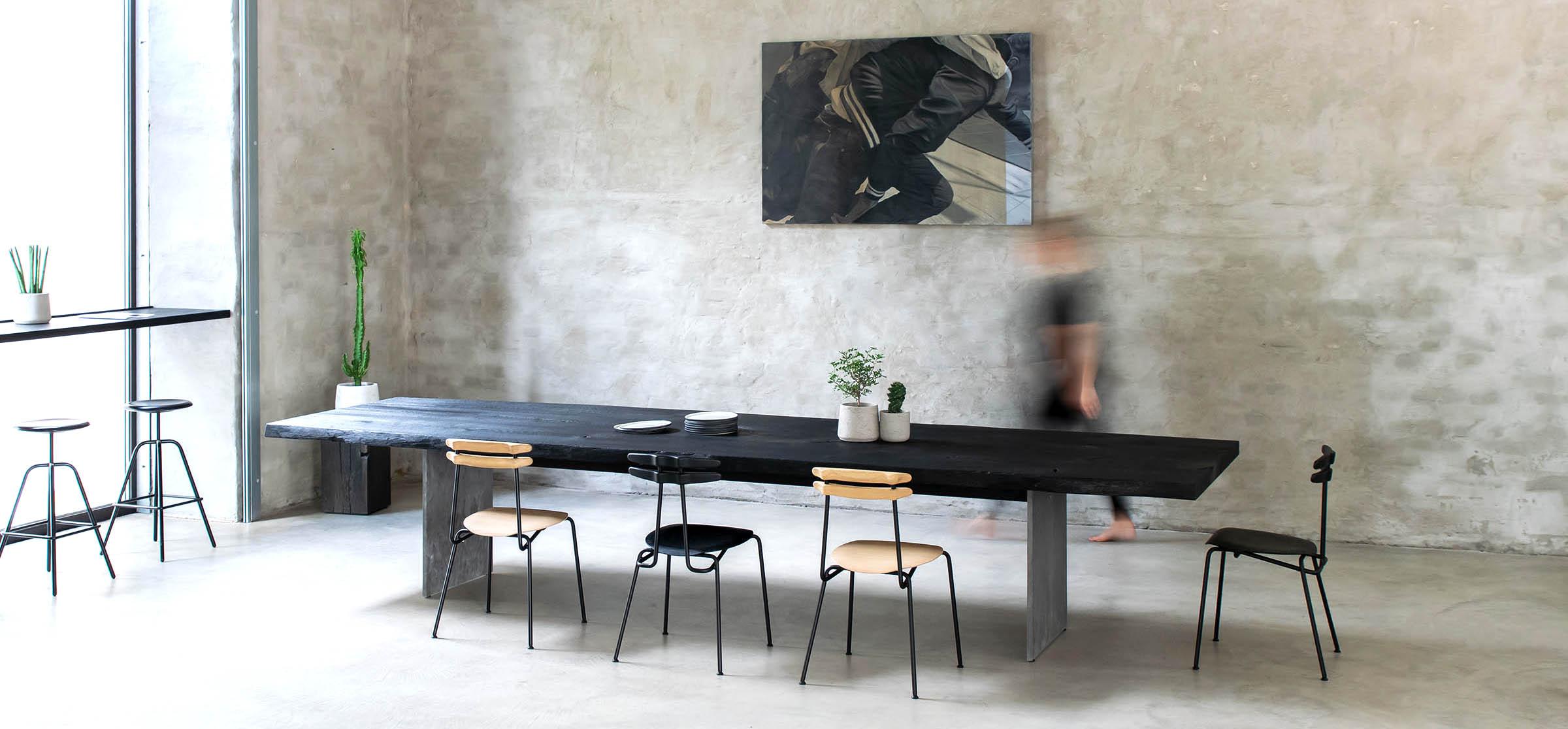Massivholzmobel Ideen Esstisch Baumstamm - House Interior ...